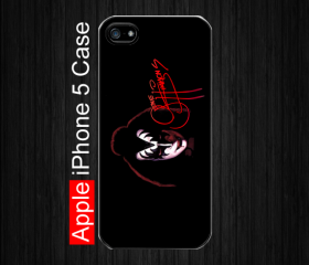 iPhone 5 Case,Kiss Gene Simmons, Black Case