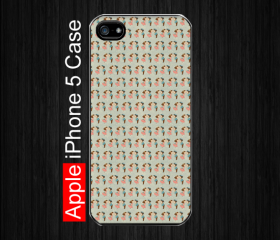 iPhone 5 Case,kiss orla kiely, Black Case