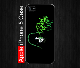iPhone 5 Case,Kiss Peter Criss, Black Case