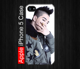 iPhone 5 Case,K-Pop Big Bang's Taeyang Fans #3, Black Case