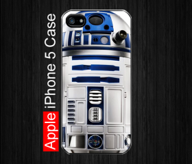iPhone 5 Case, Best Sale R2D2 StarWars, R2D2 Star Wars - Black iPhone 5 Case