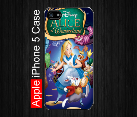 iPhone 5 Case,Alice in Wonderland #3 iPhone 5 Case, Black Case