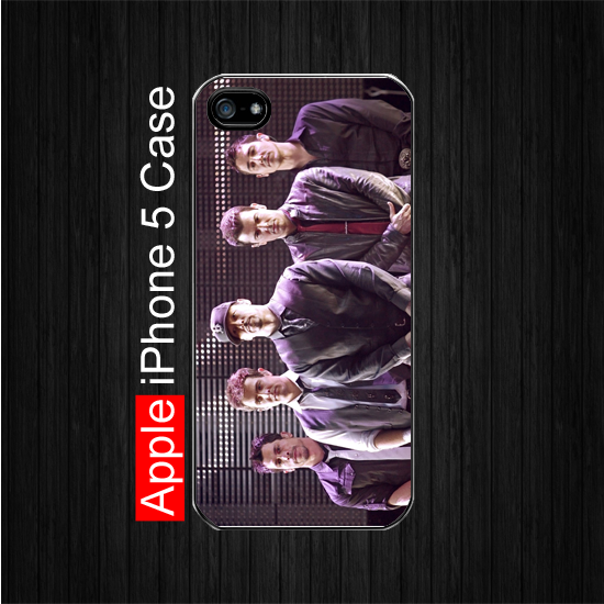 iPhone 5 Case,NEW KIDS ON THE BLOCK, Black Case